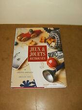 Livre avec jaquette - JEUX & JOUETS RETROUVES (par CHRISTINE ARMENGAUD) - 1997