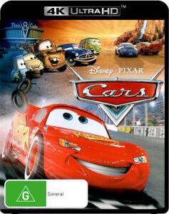 CARS (4K UHD) (2006) [NEW BLURAY]