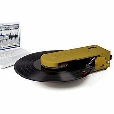 New CROSLEY REVOLUTION PORTABLE TURNTABLE USB ENCODING HEADPHONE JACK RRP $99