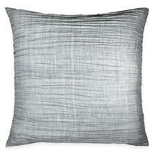 Dkny City Pleat European Pillow Sham Grey $30