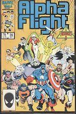 Marvel Alpha Flight 39 Oct 1986 Invasion Of Atlantis Mantlo