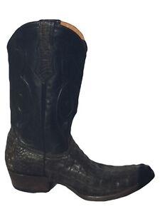Men's Old Gringo's Benchmark Alligator Western Style Cowboy Boots 10.5