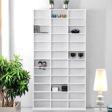 1116 CD 528 DVD Shelf Rack Media Book Storage Stand Cupboard Shelves BLURAY
