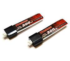 2x Lipo Akku 1S 3,7V 200mAh für E-Flite Blade mCP X mCPx V2 EFLB2001S25 Batterie