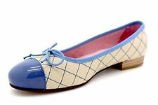 Sand Leather Ballerina Pumps UK 4 - Brand New & Boxed