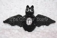 Halloween Decorations Black Owl Hanging Ornament Rhinstones Beaded Style B