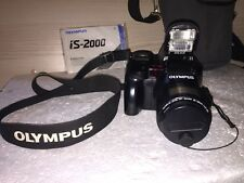 Olympus IS 2000  ED 35-135mm Zomm Macro Compact Film Camera - Manual Retro