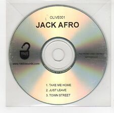 (GG759) Jack Afro, Take Me Home / Just Leave - DJ CD
