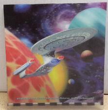 "1999 Star Trek:Next Generation 3-D 7.5"" Print- Unused-Free S&H (C6099)"