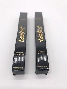 2x Tarte Tartiest Blackout Lip Cryaon 0.01 oz New in Box
