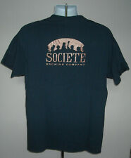 Societe Brewing Company Beer T Shirt Mens Large blue