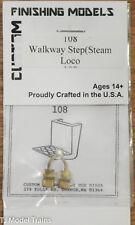 Custom Finishing HO #108 Steps - Walkway - Steam Locomotive