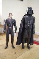 "Vintage Star Wars 15"" Darth Vader Kenner with 12"" Anakin Skywalker"
