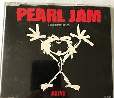 Rare Pearl Jam Alive Uk Cd Single 1991 Near Mint Grunge Punk Vedder Seattle