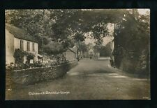 Somerset Entrance to CHEDDAR GORGE c1920s? RP PPC local pub Gough