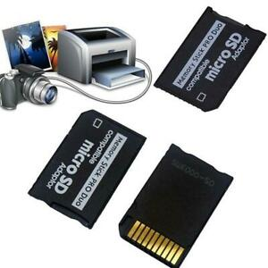 Micro TF to Memory Stick MS Pro Reader For Adapter new Z9L9 Converter D4W2