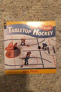Tabletop Hockey Book Livre Hockey sur table Munro Eagle Coleco Stiga Aristopel