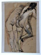SIGNED LIMITED EDITION (500) Marino Marini Litho DUE NUDI (Two Nudes)
