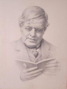 REGINALD CAMPBELL 1877 - 1962 - Fine Pencil Drawing - Ireland 1916