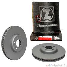 Zimmermann COAT Z 312mm Bremsscheiben VA für AUDI  PR Nr. 1LA 1LL 1LJ 1ZD 1ZA