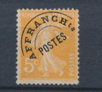 France Préoblitéré N°50 5c orange N** Cote 130 € signé Calves N2234