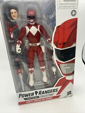 "2020 HASBRO TOYS POWER RANGERS LIGHTNING RED RANGER 6"" ACTION FIGURE MIB"