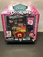 DISNEY DOORABLES - Peter Pan - Hook's Pirate Ship Mini Playset - New!