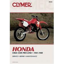 Clymer Workshop Manual Honda CR60R CR80R CR125R Pro-Link 1981-1988 Repair