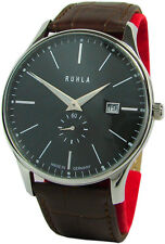 Ruhla Classic Made in Germany Herrenuhr Edelstahl mens watch swiss Werk Garde
