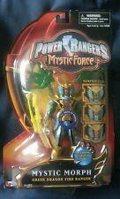 POWER RANGERS MYSTIC FORCE MYSTIC MORPH GREEN DRAGON MOSC FREE S/H