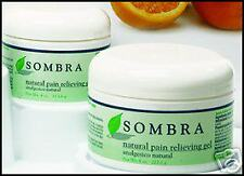 12 EACH SOMBRA NATURAL PAIN RELIEVING GEL 8oz
