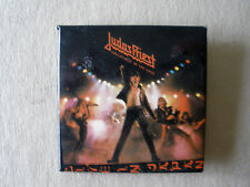 Rare Judas Priest Unleashed Live In Japan 1979 Vintage Orig Pinback Button