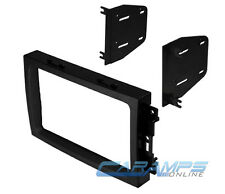 CAR STEREO RADIO CD PLAYER DASH INSTALL MOUNTING KIT INSTALLATION MOUNT TRIM