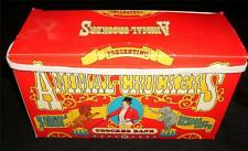 3 1981 ANIMAL CROCKER BANK STUFFED Toys Vintage Collectible Promotion Box Set