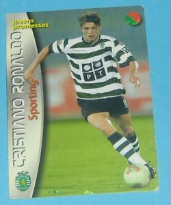 Panini  2003 Sports Mega Craques Cristiano Ronaldo ROOKIE ORIGINAL SPORTING rare