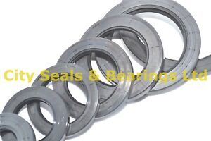 METRIC OIL SEAL (CHOOSE YOUR SIZE) 45MM to 62MM INTERNAL DIAMETER ALL IN STOCK