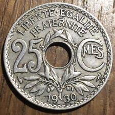 PIECE DE 25 CENTIMES LINDAUER 1930 (348)
