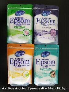 Aromatherapy Epsom Salt + Essential Oil Epsom Salt for Muscle Aches100% Natural
