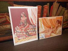 Djinn-Ex-Libris+Croquis-Marques-Pages-Dufaux-Miralles-BD