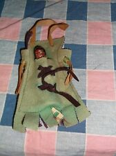 Vintage Souvenir Hayward Wis Papoose in Carrier Baby Marked Japan carrier Felt