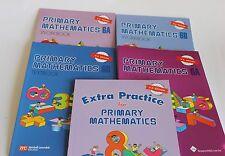 Primary Math Extra 6 Set(US Edition) -Workbooks/Texbooks 6A+6B+ Extra Practice 6