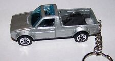 CUSTOM MADE..VOLKSWAGEN CADDY (SILVER MET.) KEYCHAIN..GREAT GIFT