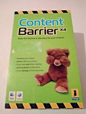 Intego Content Barrier X4 CD ROM Blocks Offensive Content For Kids Mac Software