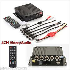 Mini 4CH HD DVR Realtime Video/Audio Recorder SD Card+Remote Controller SW-0001A