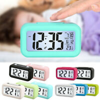 Digital Alarm Clock Student Clock Large LCD Display Snooze For Kids Rooms Office