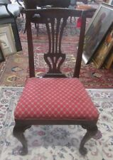 Pre 1800Queen Anne Antique Chairs   eBay. Antique Queen Anne Upholstered Chairs. Home Design Ideas