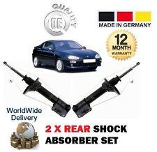 Per Mazda MX3 1.6 1.8 1991-1997 2X POSTERIORE SINISTRA + DESTRA AMMORTIZZATORE SHOCK X2