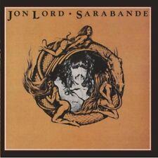 JON LORD SARABANDE REMASTERED CD NEW