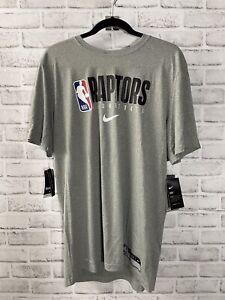 Nike NBA Toronto Raptors PE Dri-Fit Shooting Shirt Men's L-T CD2753-063 NEW