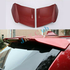 For Nissan Rogue X-trail 2014-2017 2pcs ABS k Red Rear Roof Trunk Spoiler Wing